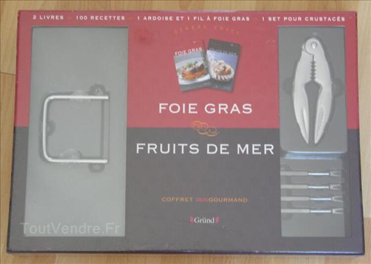 Coffret Duo Gourmand GRUND (NEUF): Foie Gras / Fruits de Mer 1