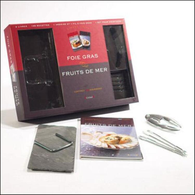Coffret Duo Gourmand GRUND (NEUF): Foie Gras / Fruits de Mer 3