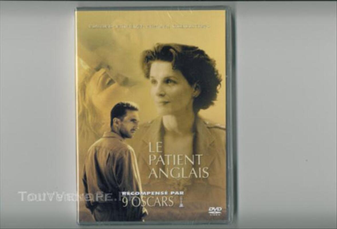Dvd le patient anglais