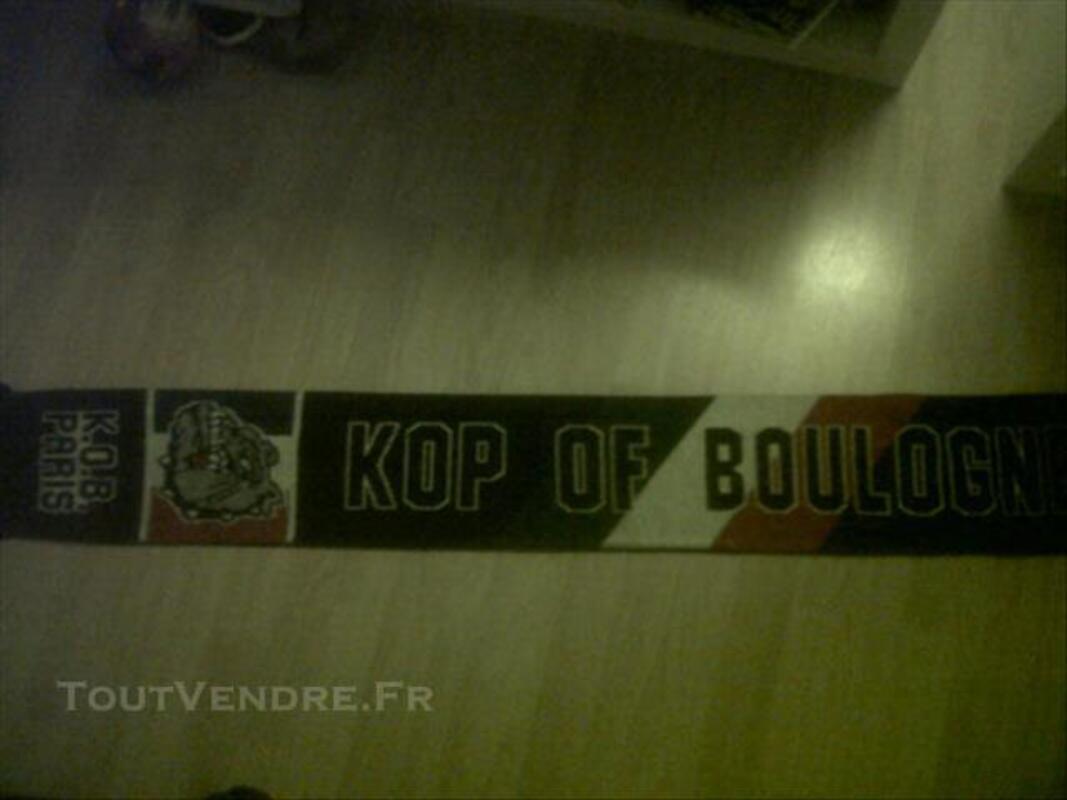 Echarpe KOP OF BOULOGNE ultras psg hools