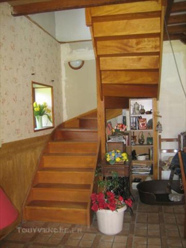 Escalier quart tournant droit