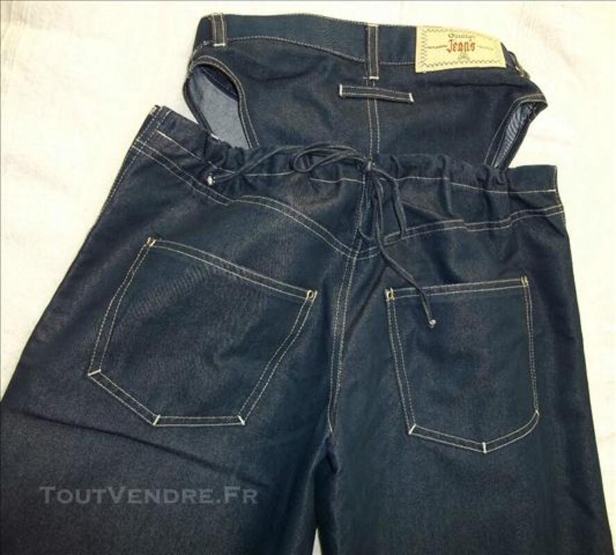 Gaultier Jean's,jean très très original :2 parties,T36