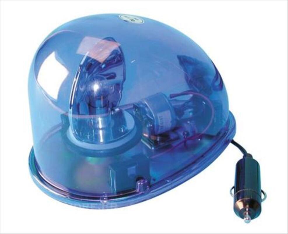 Gyrophare magnétique goutte d'eau bleu