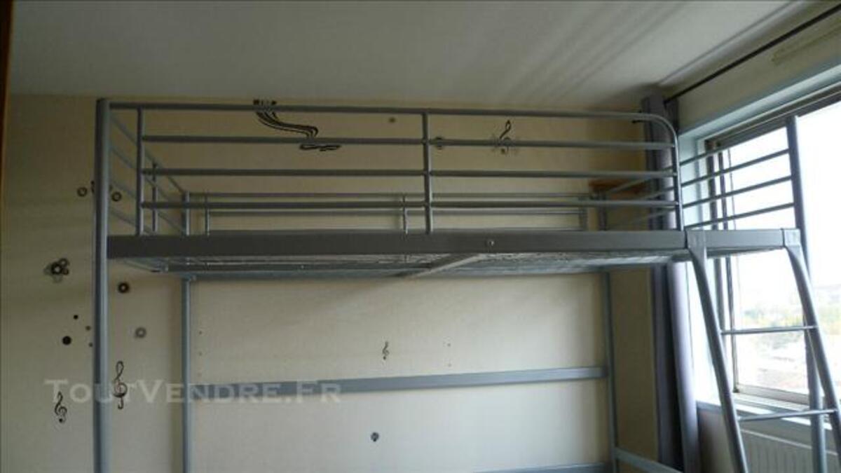 Ikea Tromso Lit Mezzanine 140 X 200