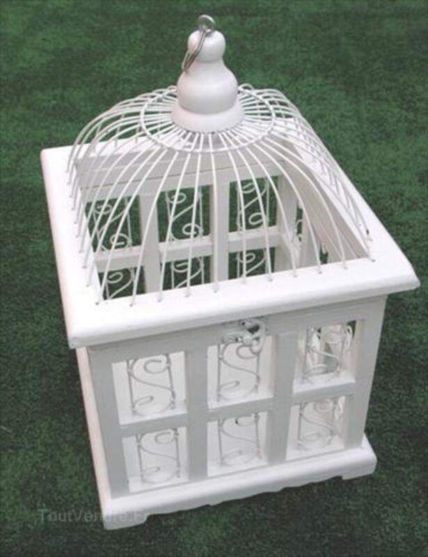 Location urne cage a oiseau pour mariage ou bapteme 1