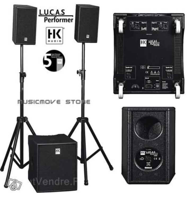 LUCAS PERFORMER HK AUDIO GARANTIE 5 ANS