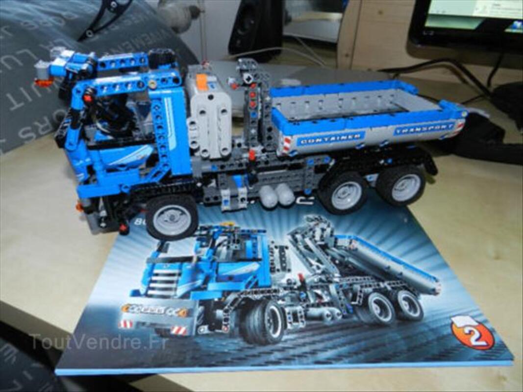 Montage lego technic 8052