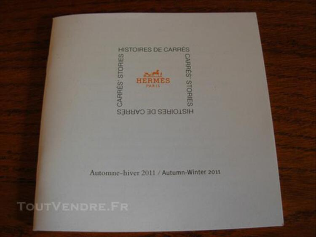 Livret Hermès Histoires de carrés A/H 2011
