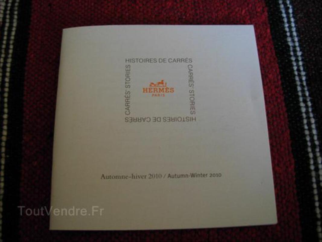 Livret Hermès Histoires de carrés