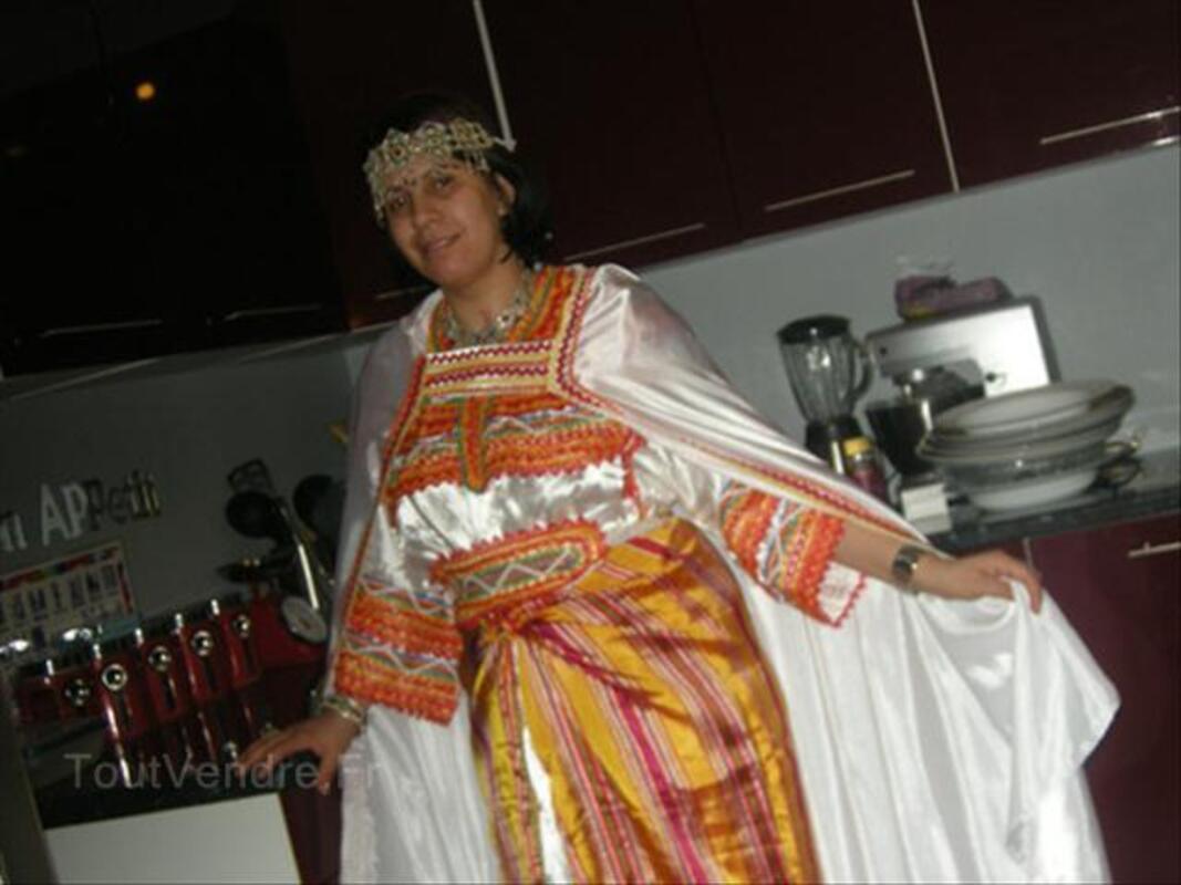 Location de robe kabyle + bijoux 2