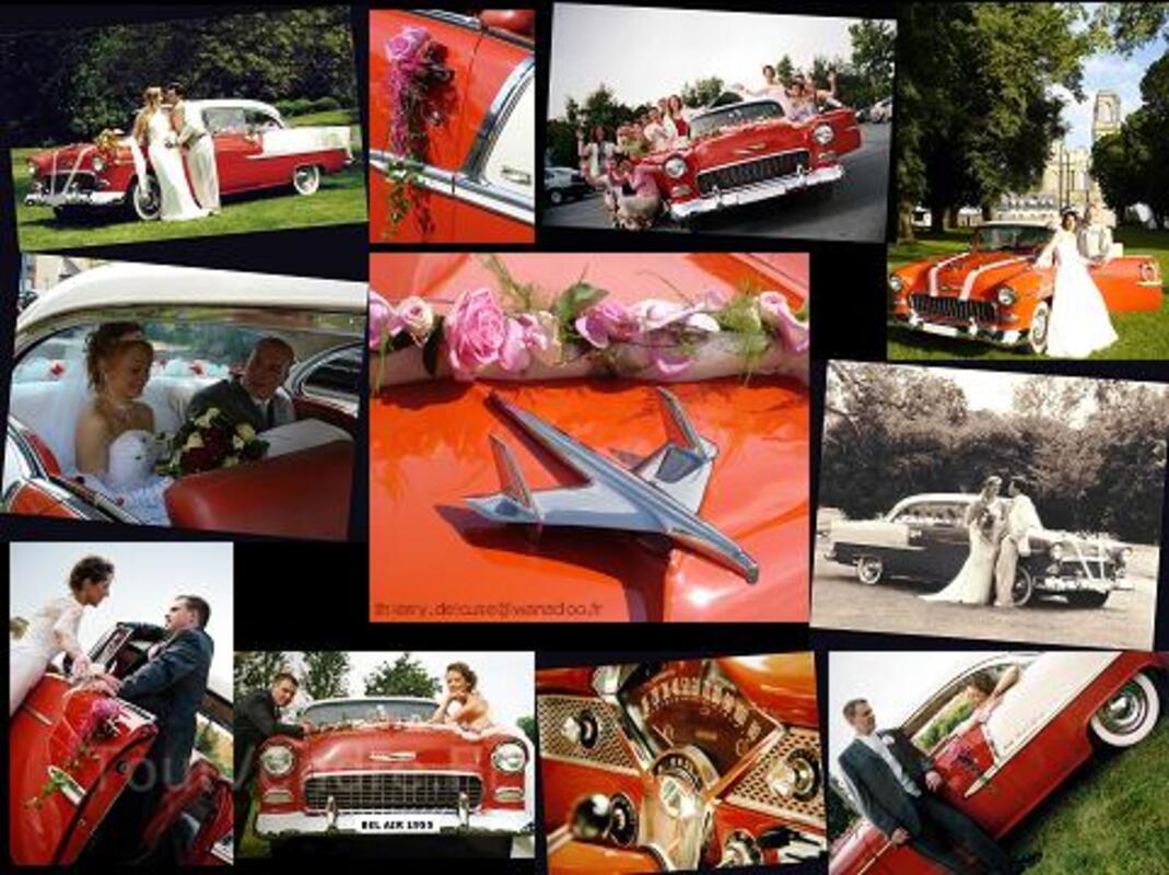 location voiture amricaine de collection pour mariage 19632077 - Location Voiture Americaine Pour Mariage