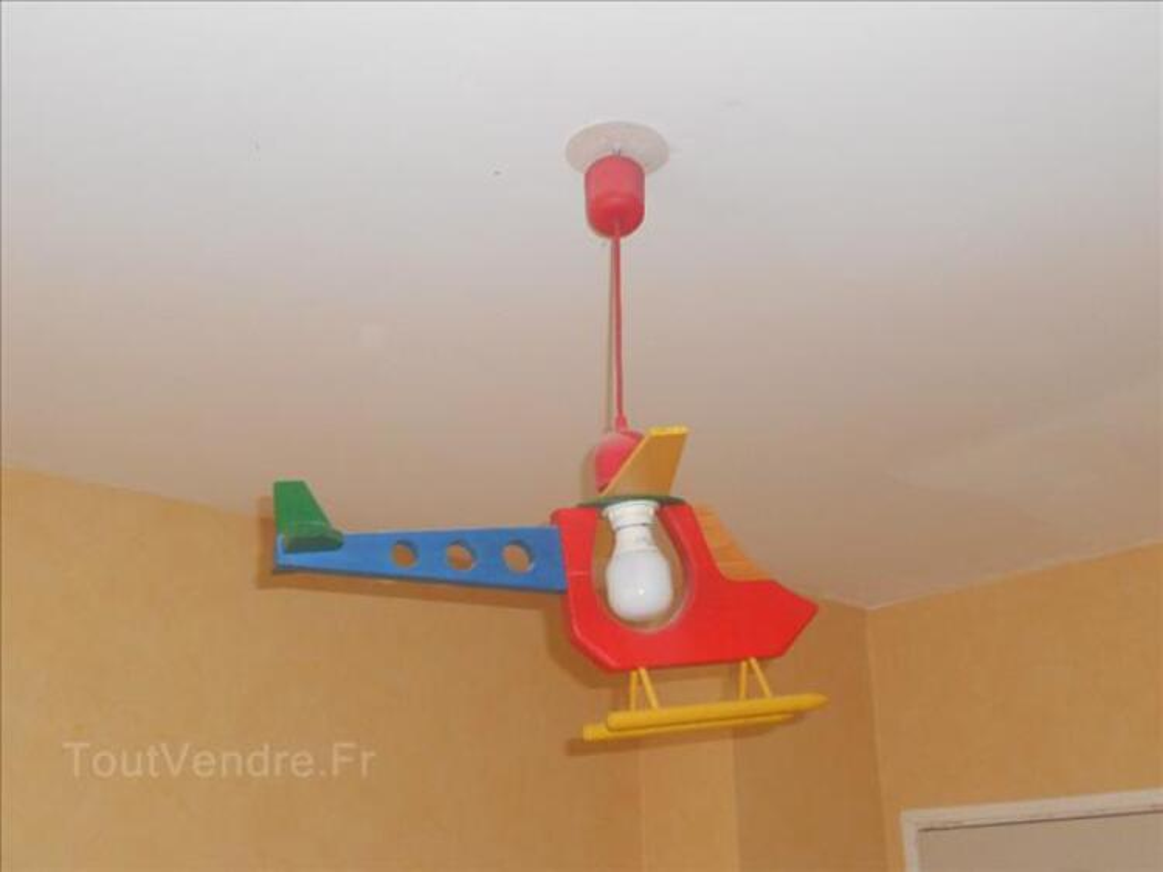 lustre h licopt re enfant montfaucon 02540 d coration. Black Bedroom Furniture Sets. Home Design Ideas