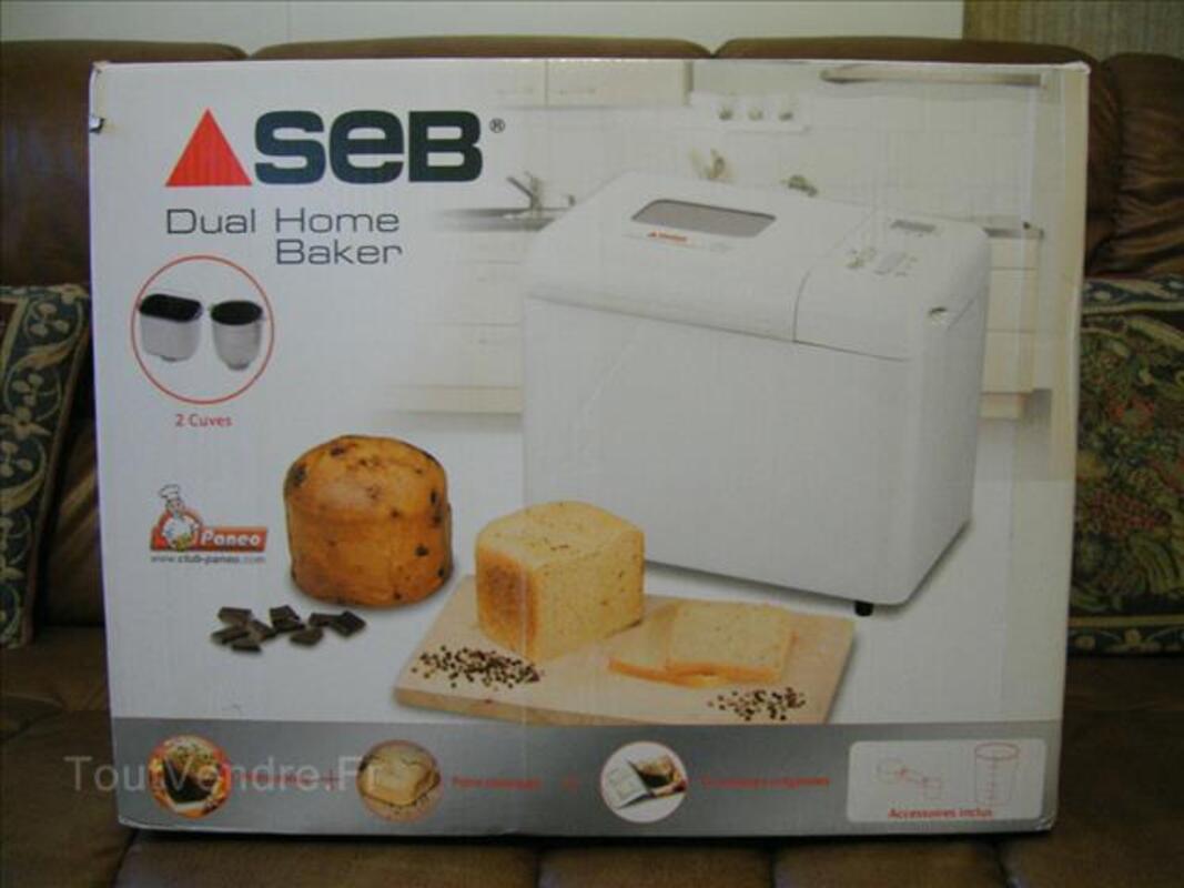 machine a pain seb dual home baker neuve saint-nicolas courbefy 87230