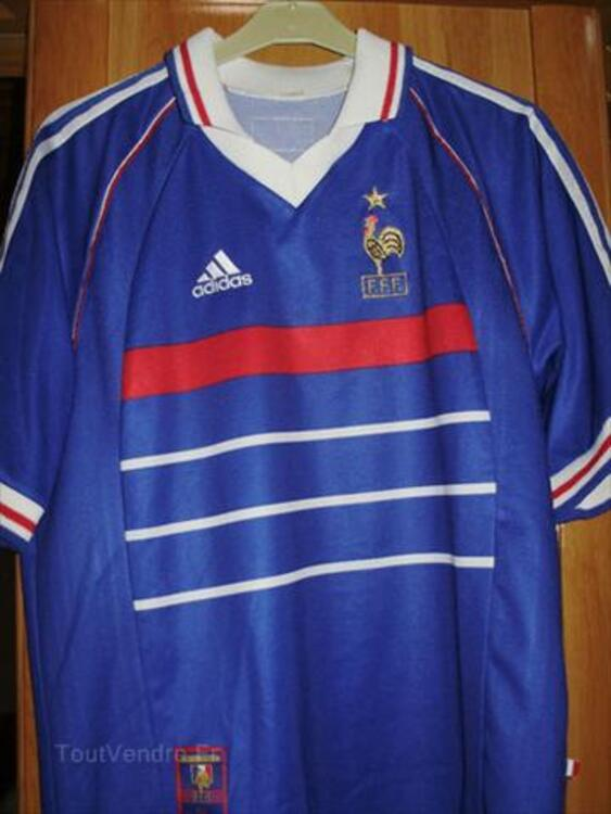 MAILLOT FRANCE 98 FOOT TAILLE M