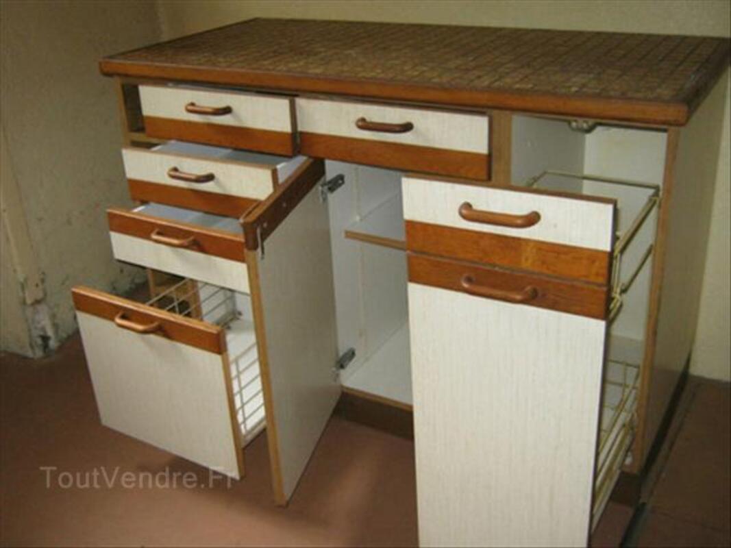 meuble bas de cuisine avec plan de travail carrelé savoyeux 70130 - Meuble Bas Cuisine Avec Plan De Travail