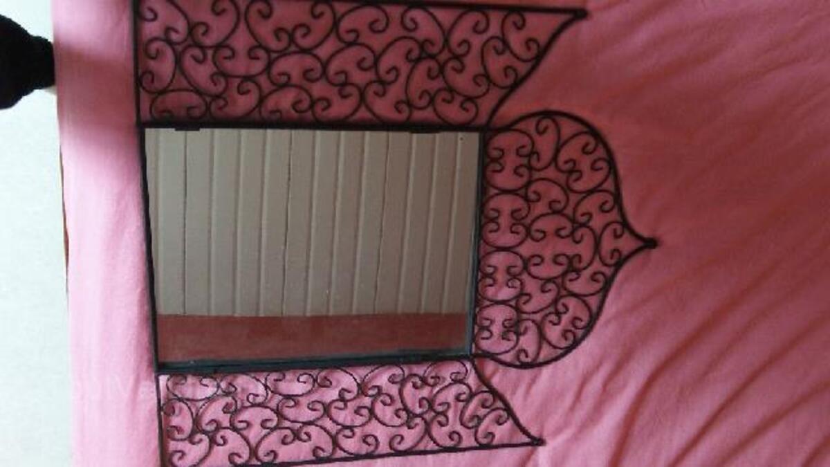 miroir fer forgé neuf style marocain maison du monde molac 56230