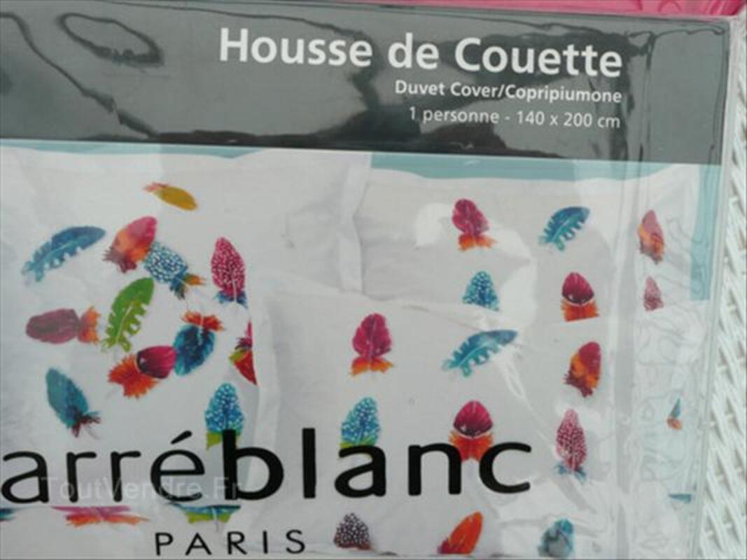 Housse De Couette Carre Blanc Pas Cher. Top Housse De Couette With