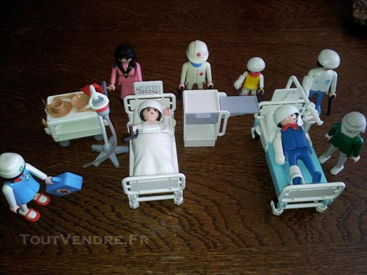 PERSONNAGES HOPITAL PLAYMOBIL