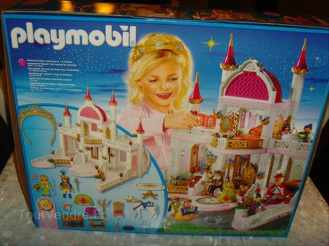 Playmobil Château de princesse neuf !!