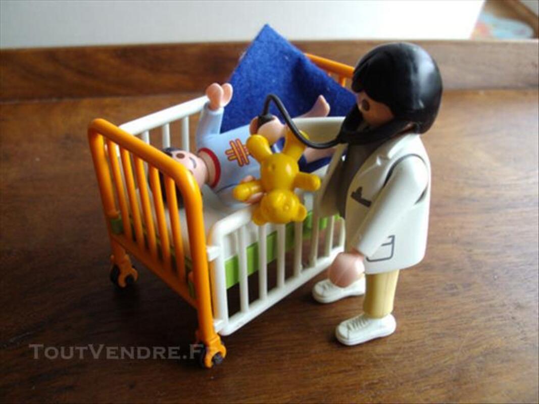 Playmobil : pédiatre et patient