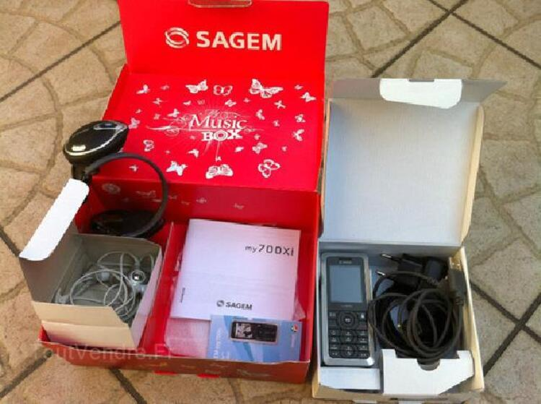 Portable Sagem Désimlocké complet dans boîte my 700xi