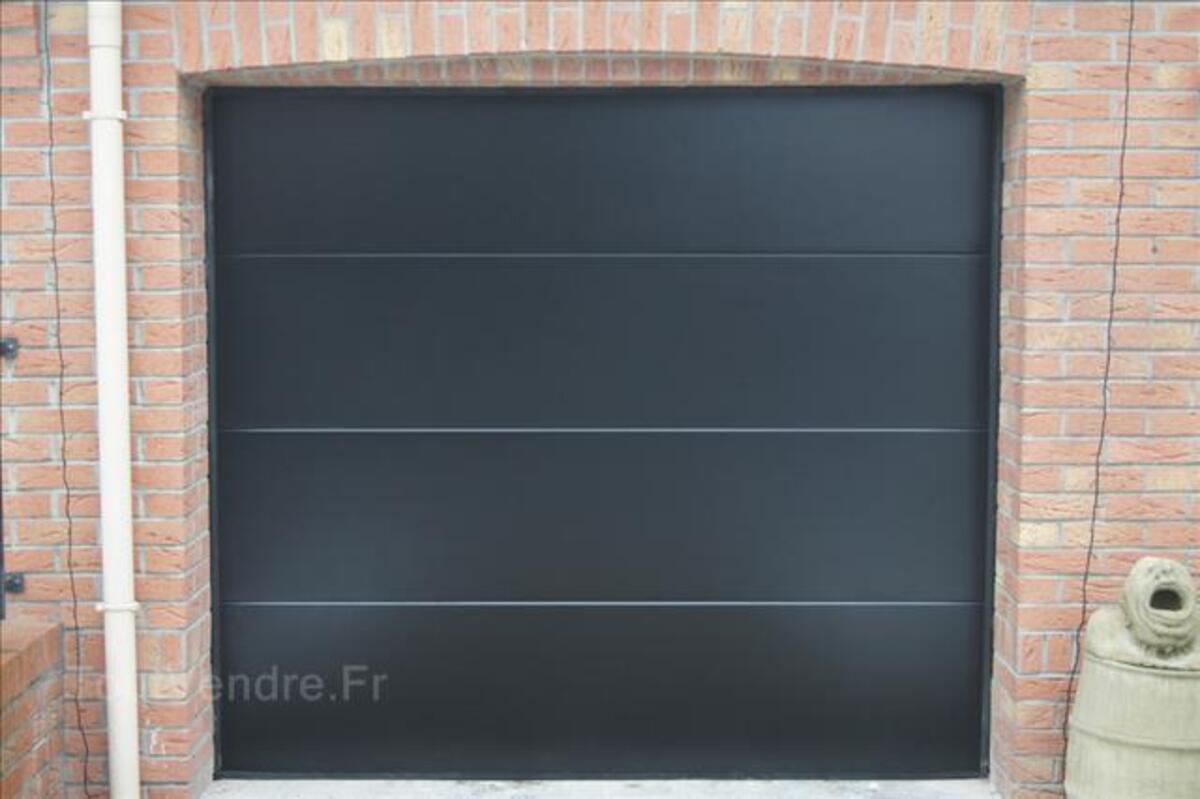 Porte de garage sectionnelle manuelle ou motorisée
