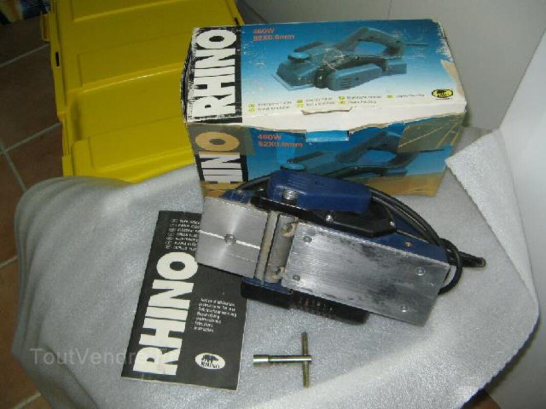 rabot electrique rhino. Black Bedroom Furniture Sets. Home Design Ideas