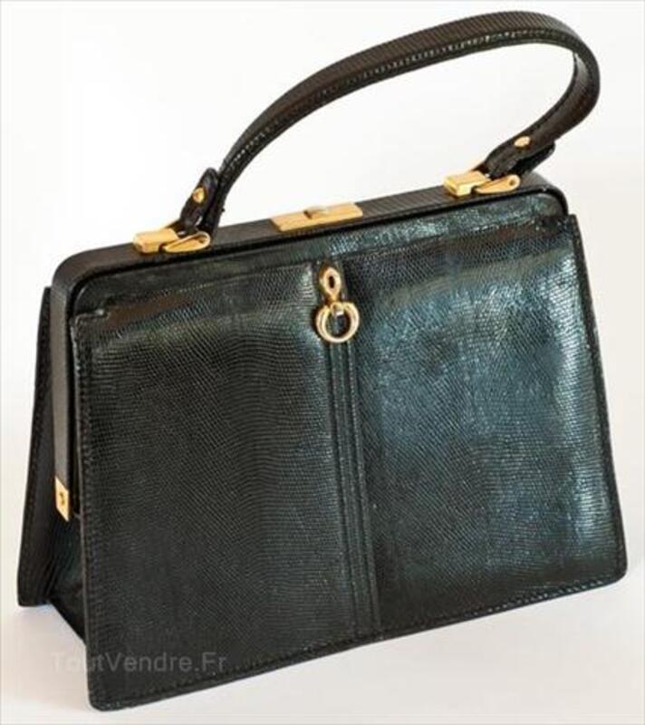 Sac à main femme vintage années 1950 Gelles 63740