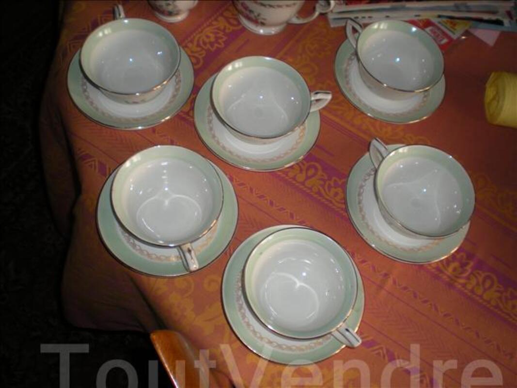 Service caf l 39 amandinoise en porcelaine stiring wendel - Stiring wendel cauchemar en cuisine ...