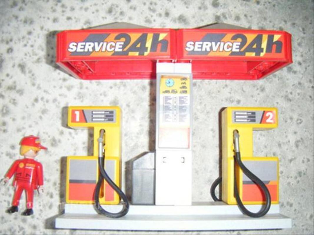 Station service playmobil