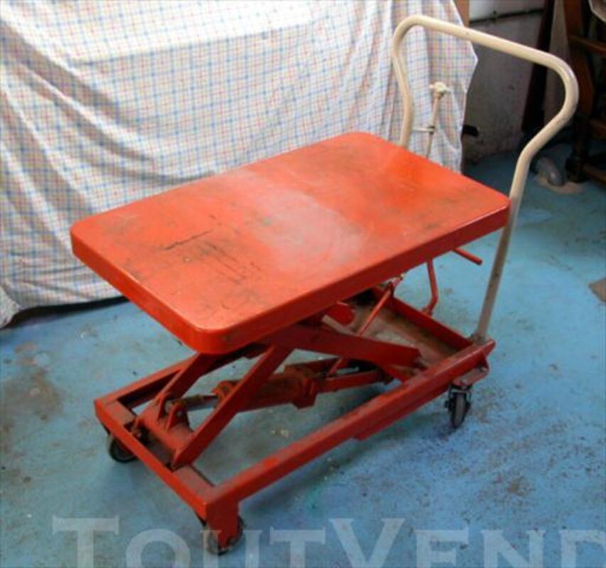 Table élévatrice manuelle bishamon bx25y (japon) 1