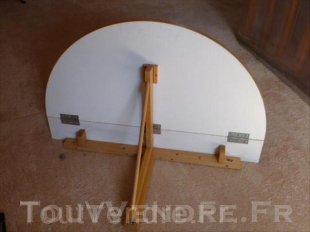 Table murale rabattable 2