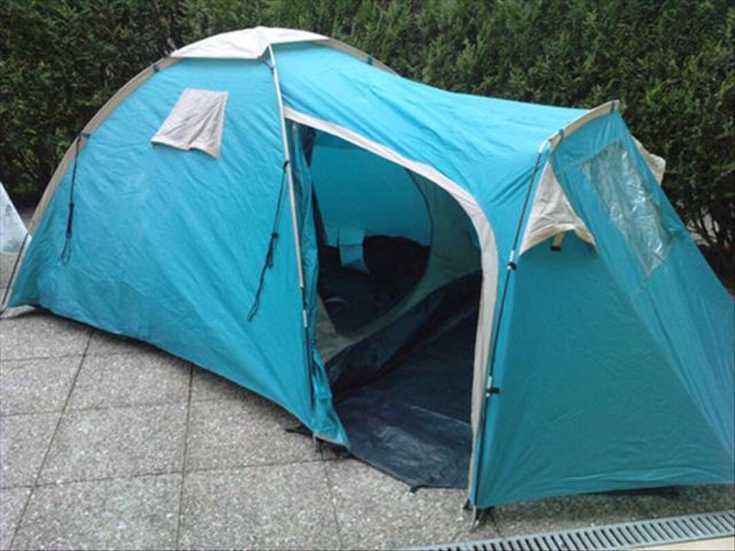 Tente 3 places avec abside