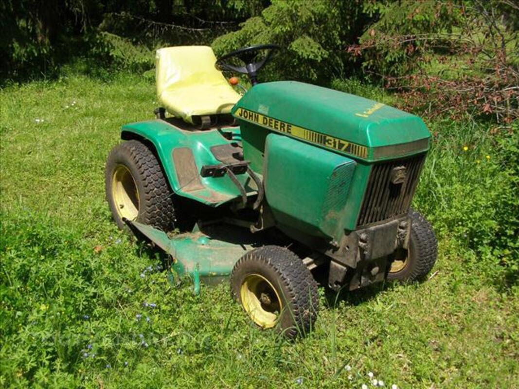 Tracteur tondeuse john deere