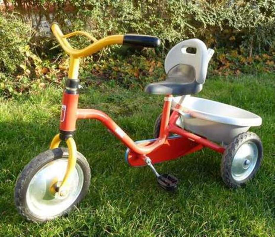 Vélo tricycle Judez avec canne