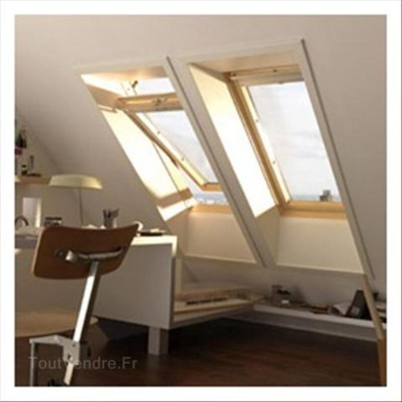 VELUX Fenêtre de toit GGL C02 3076, dim. 55x78cm