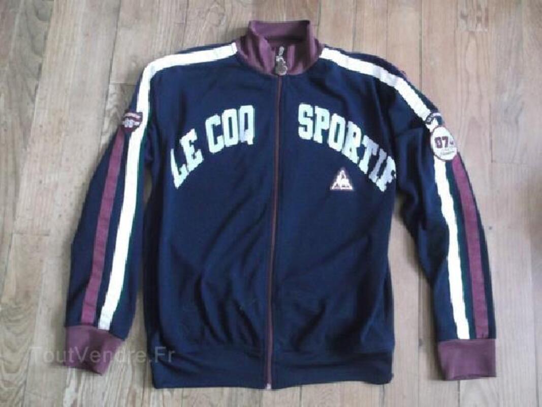 Veste vintage le coq sportif