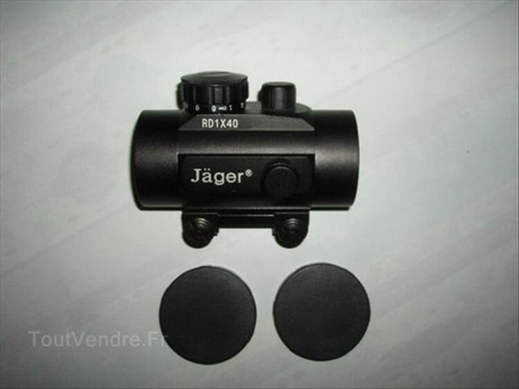 Viseur point rouge 1x40 jager.red dot 11 mm neuf