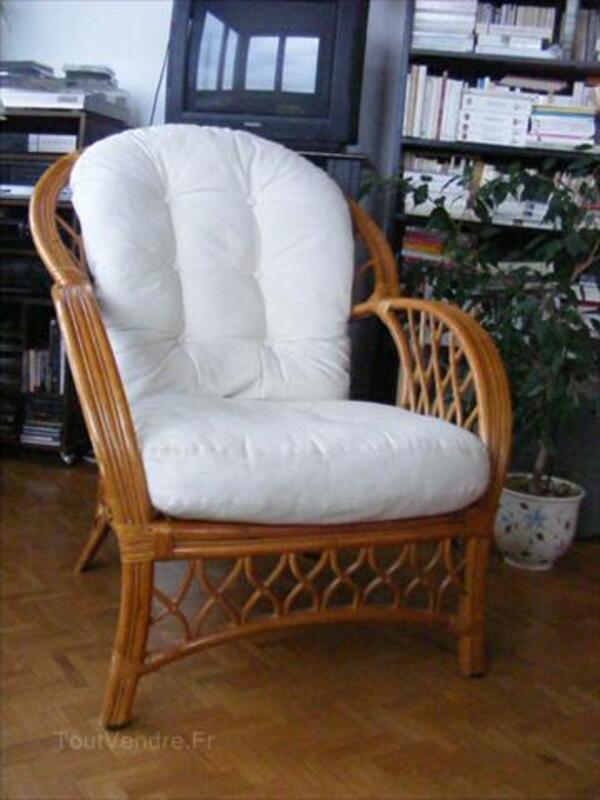 """a vendre fauteuil en rotin dit """"liseuse"""" villards-d'héria 39260"""