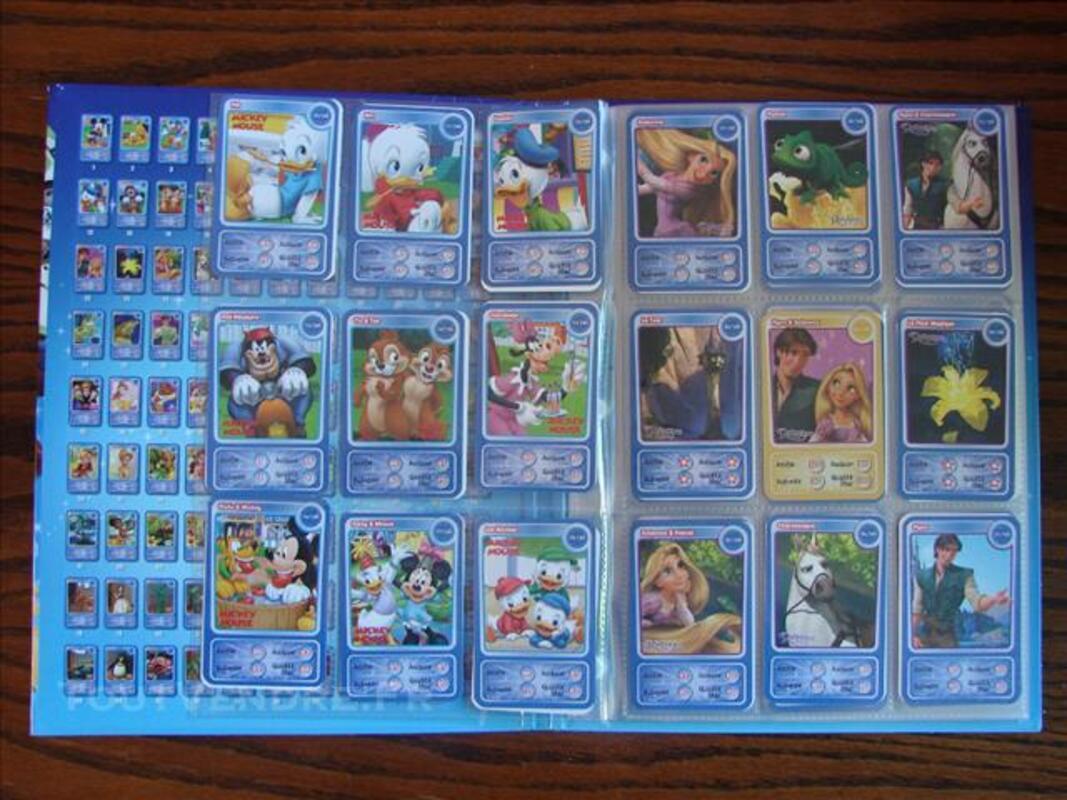 Album Disney Auchan Complet Cartes Disney Tercé 86800 Collection