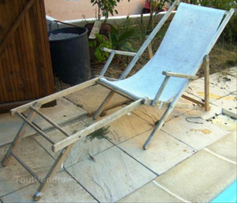 Ancienne Chaise Longue Chilienne En Bois 56288910