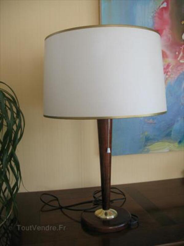 Ancienne Lampe De Bureau Pied Bois Andelarrot 70000 Decoration