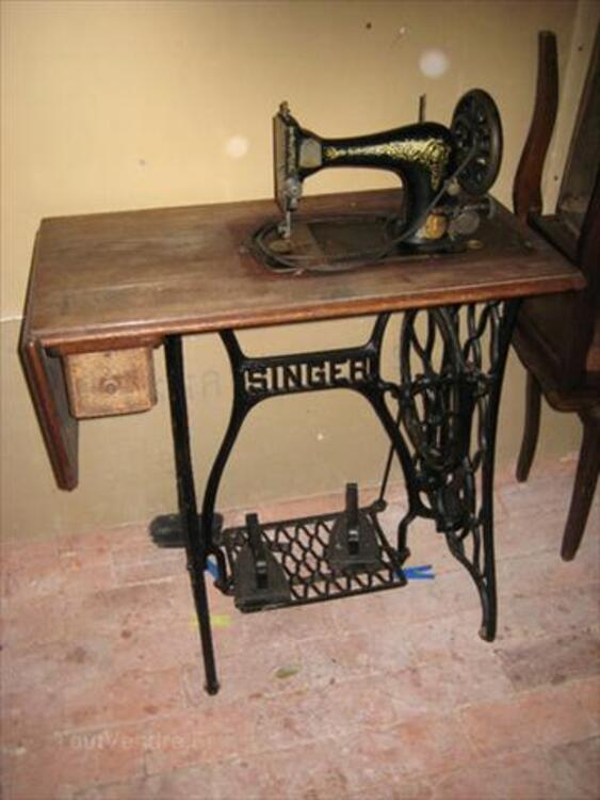 Ancienne Machine A Coudre Singer A Pedale ancienne machine À coudre singer À pédale bezinghem 62650 cuisson