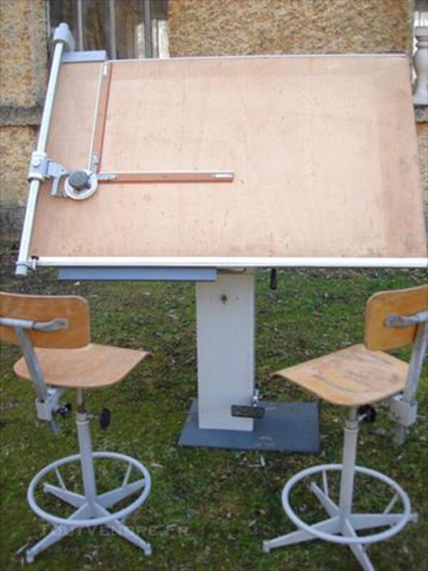 ancienne table d 39 architecte wildersbach 67130 ameublement. Black Bedroom Furniture Sets. Home Design Ideas