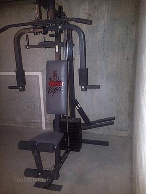 banc de musculation viper 2000
