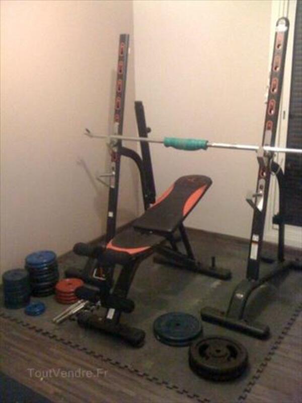 Banc Musculation Domyos Bi 460rbr 560haltèrespoids Tauxières