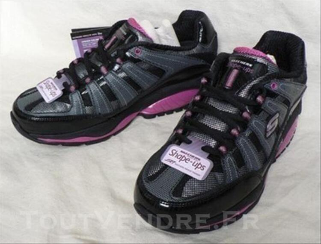 Baskets Ups 37 Shape Neuf Rose Pout 33670 Le Skechers Noir vwvq1