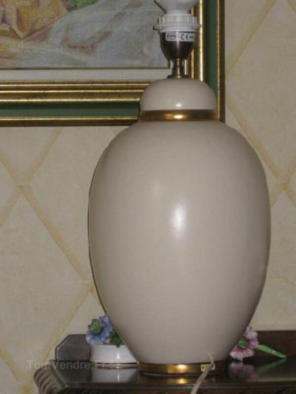 Or Kostka Et Beau De Maurice 58330 Lampe Décoration Ivoire Pied nyNPv8m0Ow