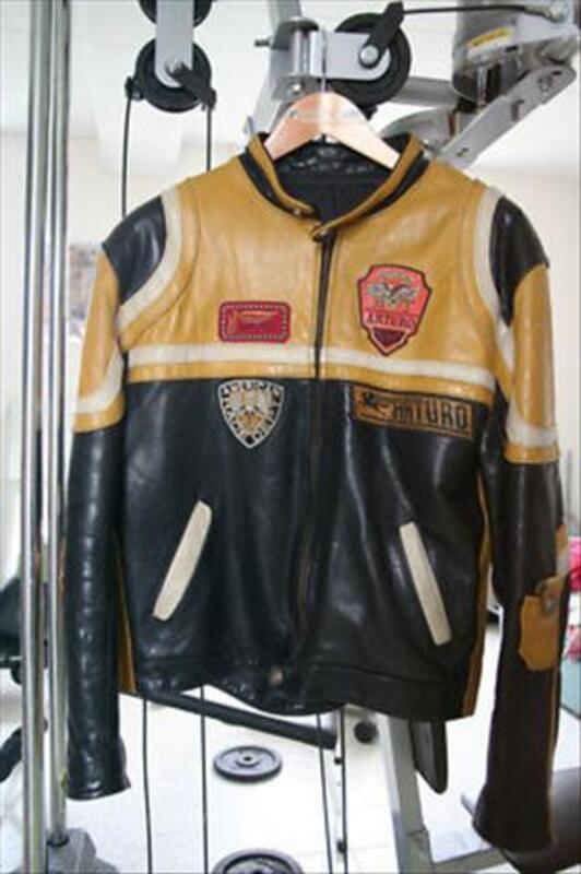 Petit Arturo Cuir Blouson Taille 51230 Broussy Vintage L Moto Le aOwq8wxUC
