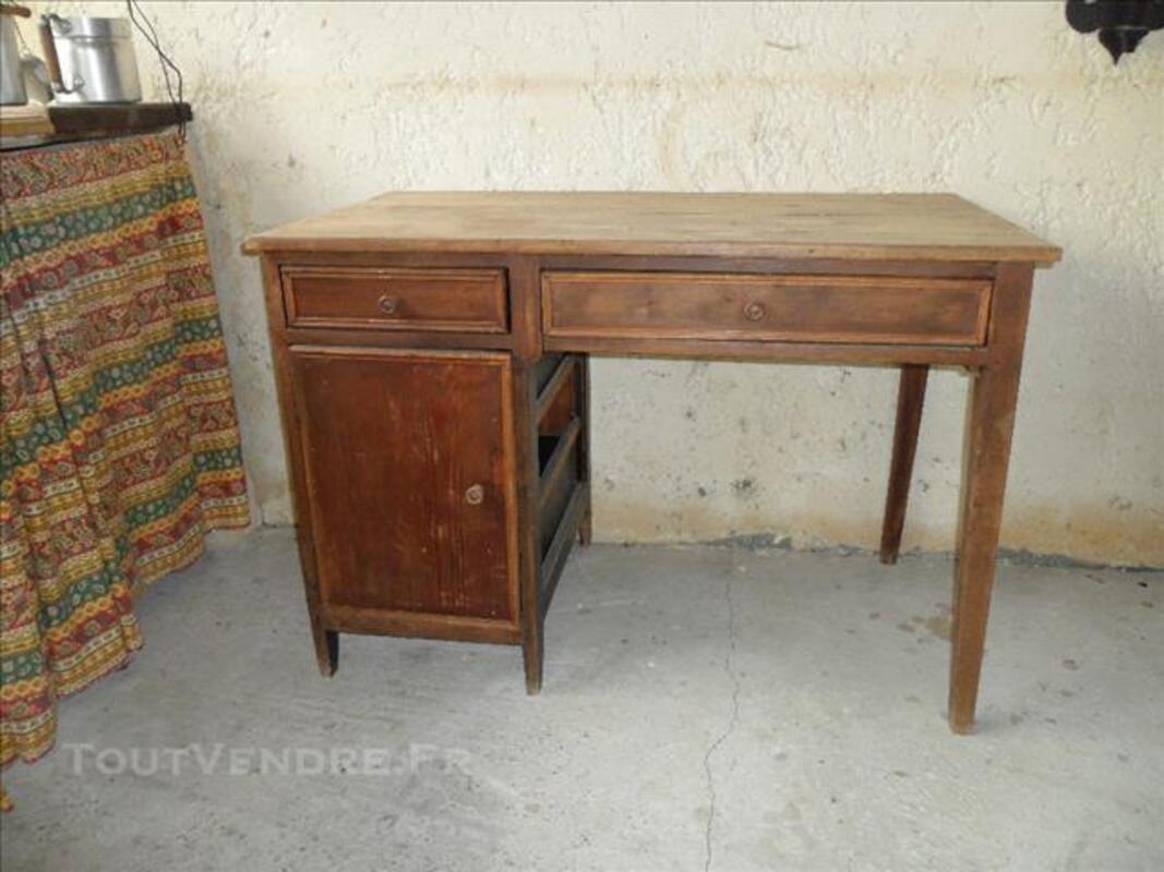 Bureau en bois ancien À rénover nalzen ameublement